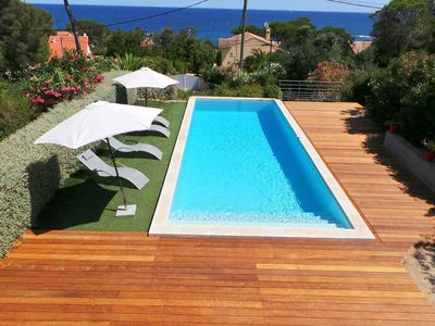 Photo for modern villa 300 meters from the sea with pool 4 bedrooms