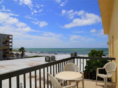 Photo for Light & Bright Upgraded Unit View of Gulf w/ Balcony  - Sleeps 4 - Free Wifi