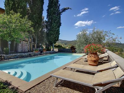 Photo for Villa Buonagrazia: A charming three-story villa in the characteristic style of the Tuscan countryside.