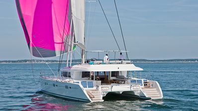 Photo for All-Inclusive Sail Vacation for up to 12 guests on a 2016 Lagoon 620 Catamaran