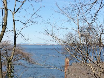 Photo for Hilltop villa with NYC and Sandy Hook views!