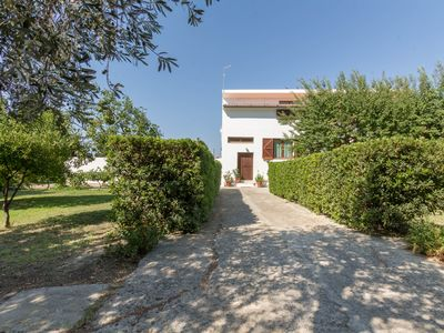 Photo for Apartment at top of a Peaceful Villa with Garden close to the beach