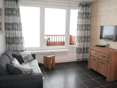 Photo for Roc de Peclet studio 22 m², South facing, Foot of the slopes, Heart Station