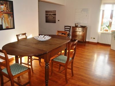 Photo for Characteristic apartment in the historical center a short walk from Rome and Lake