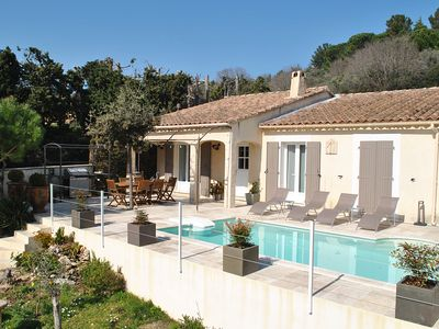Photo for VILLA WITH POOL IN THE HEART OF PROVENCE VILLAGE
