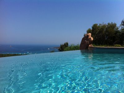 Photo for EXCEPTIONAL VIEW PINARELLO BAY AND NEEDLES BAVELLA Private Pool