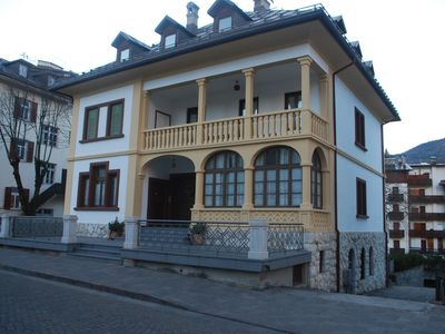 Photo for Apartment a short walk from the center of Cortina d'Ampezzo in villa Liberty.