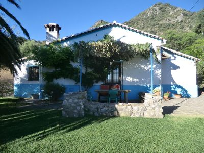 Photo for Andalucian mountain cottage Grazalema National Park Stunning views lovely garden