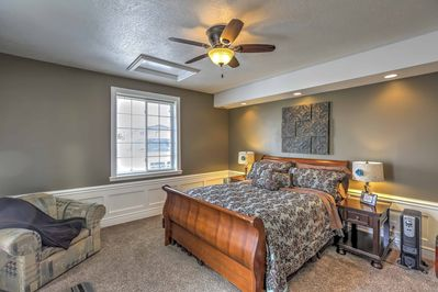 This 1-bedroom, 1-bath apartment sleeps up to 3 guests.