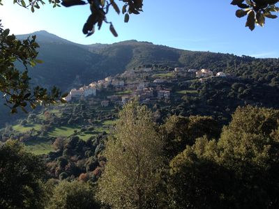 Photo for 1BR Apartment Vacation Rental in Castifao, Corse