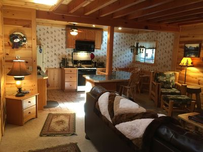 Photo for Lake Tahoe, 7th night free! On golf course, Beautiful Knotty Pine, WiFi, DirecTV