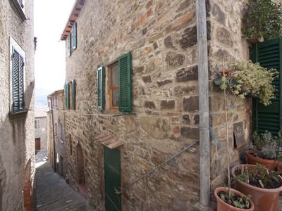 Photo for Casa Norma in the historic center of Seggiano with a splendid view of Monte Amiata