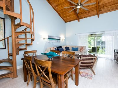 Photo for VILLA SANIBEL 3C- UPDATED CONDO STEPS FROM THE GULF!