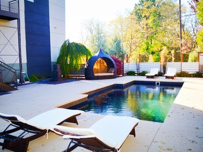 Photo for New Contemporary House by Crossroads with Pool & Rooftop Hot Tub! :-)