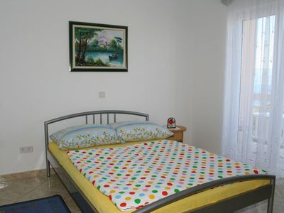 Photo for Studio flat with balcony and sea view Stanići (Omiš)