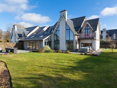 Photo for Stunning luxury  family home w/enclosed garden & hot tub near Gleneagles