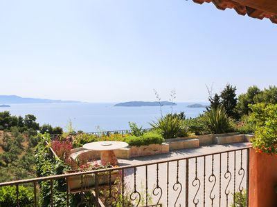 Photo for 1BR Apartment Vacation Rental in island of Skiathos - Ahladies
