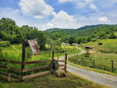 Photo for Beautiful 100+ acre Farm ony 4 miles from town (Horses welcome)