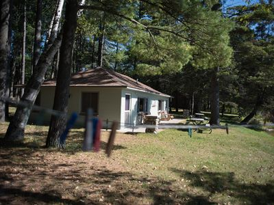 Photo for THE FINCH--Nettie Bay, MI: Sleeps 4, Row Boat included, Great fishing! ATV's welcome!