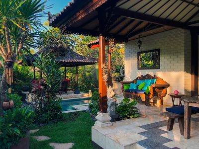 Photo for Authentic Bali - Paradise next to Beach & Volcano