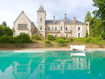 Photo for Quirky and Luxurious - Chateau d'Oche South Wing