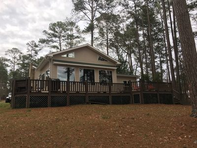 Photo for **MASTERS RENTAL** Strom Thurmond Waterfront Lake House for Rent in Appling
