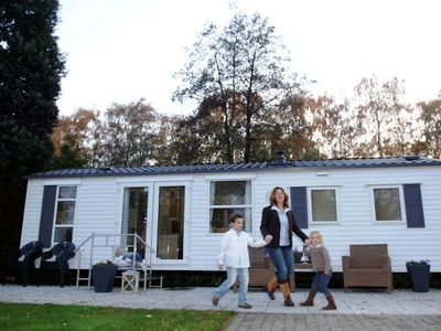 Photo for Mobile home in a beautiful area and in a holiday park with many facilities.