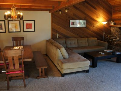 Photo for Bright Spacious 2BR+Loft/3BA Mammoth Condo in Snowflower