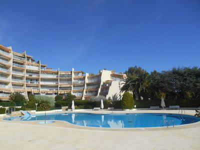 """Photo for Apartment """"Le Jean Bart"""" with pool and views of Cannes Marina"""