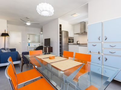 Photo for Happy Days! Air Conditioning, Parking, WiFi 200m from the beach and 600 from the center
