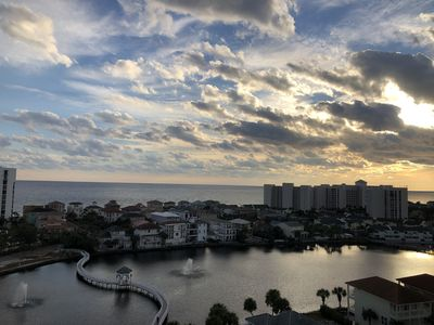 Photo for Amazing Gulf View from 11th Floor Balcony- Newly Renovated, Walk to the Beach!