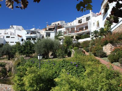 Photo for Breathtaking views from historic village house in delightful Moorish village