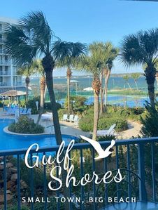 Lagoon and Oasis Pool View With Deeded Beach Access and Free Wifi. Nice views!