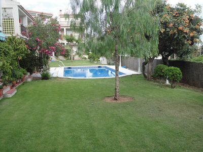 Photo for Very nice house in a quiet simpatique and around 150m from the sea.