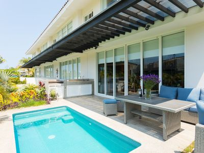Photo for Paradisac Home in El Tigre Golf course with private Pool and access to Beach Club!
