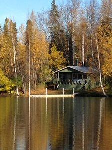 Photo for Cozy Lakefront Cabin