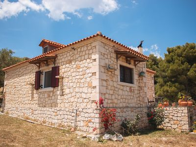 Photo for Vilatsouri-3 bedroom stone house