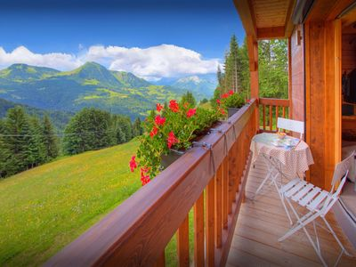 Photo for Pistes and restaurants nearby at this sunny French Alps home - OVO Network