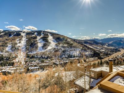 Photo for Stunning mountain home w/ amazing views & a private hot tub, grill, & firepit