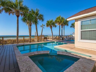Photo for Gulf Front Home with private pool and hot tub! Near Pier Park Plus Free Fun Included!