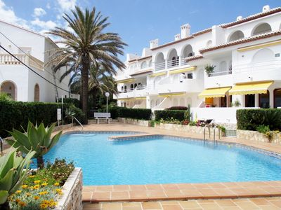 Photo for 1 minute to Javea Beaches, high standard 2 bedroom apartment with sea views.