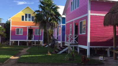 Photo for Pink cabin located in WhyKnot Holbox