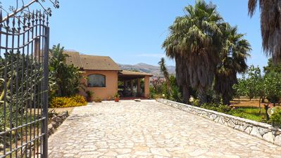 Photo for ELEGANT, DISTINCT, RELAXING, WITH LARGE TERRACE, CLOSE TO THE SEA AND MOUNTAIN.