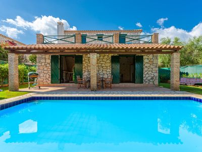 Photo for Villa Diony: Private Pool, Walk to Beach, A/C, WiFi