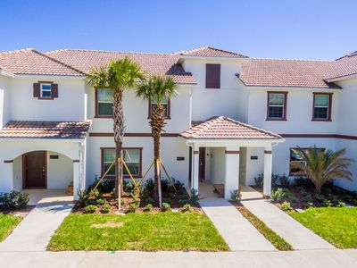 Photo for Beautiful brand new townhouse with private pool - Storey Lake Resort near Disney