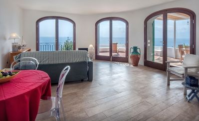 Photo for Villa on the coast offers an incomparable view of the sea and great tranquility