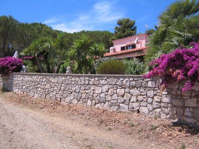 Photo for Apartments in the cottage / fantastic views of mountains, sea and Porto Azzurro