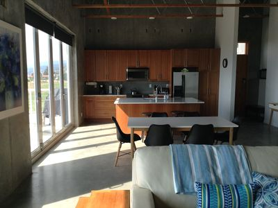 Photo for Modern design with beautiful views, minutes from Penticton and Okanagan Lake.