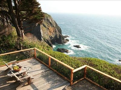 Photo for Oceanfront Vacation Home - Spectacular Views; Hot Tub; Wi-Fi.