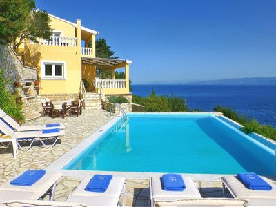 Photo for Private Villa Kalypso | 2 minutes to the Beach, Infinity Pool & Amazing Seaviews